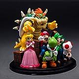 XJRHB Jouet Statue Super Mario Jouet Modèle Jeu Artisanat du Personnage/Décorations/Mario Bros