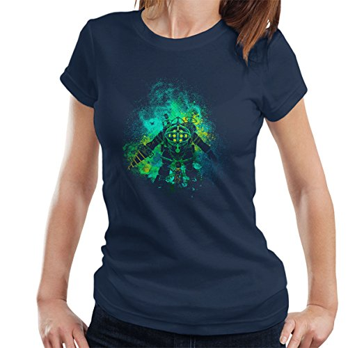 Rapture Art Big Daddy Little Sister Bio Shock Women's T-Shirt