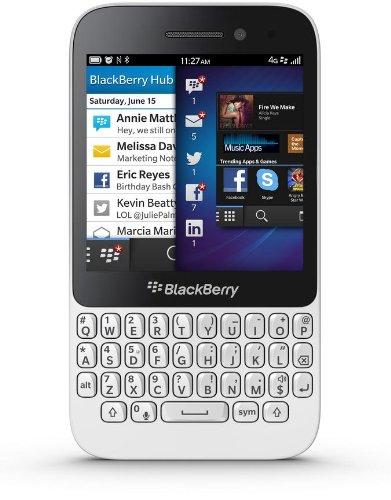 Blackberry Q5Smartphone/PDA Phone, 3.10Zoll Display, Edge, GPRS, HSDPA, HSUPA, WLAN, Bluetooth