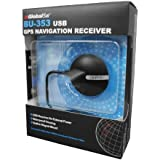 GlobalSat BU-353 Récepteur GPS étanche USB (SiRF Star III)