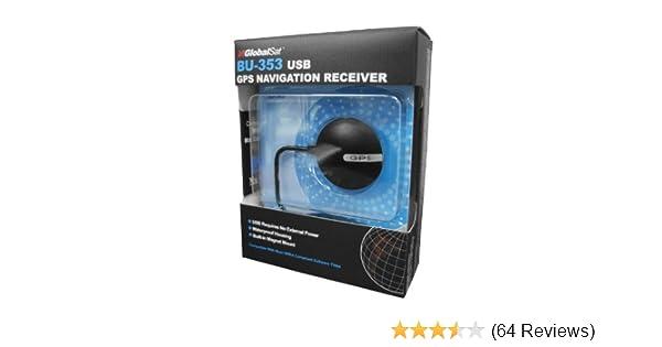 bu-353 usb gps receiver software