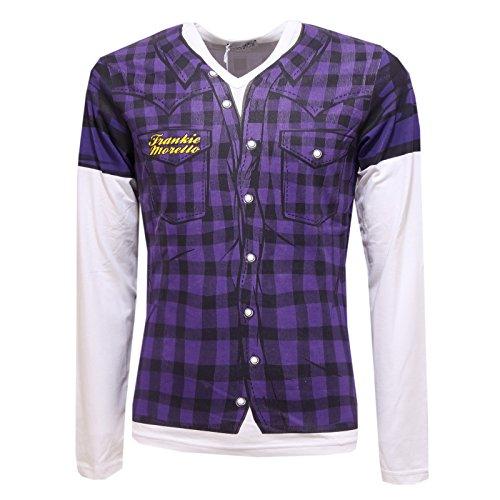 78504 maglia FRANKIE MORELLO SEXYWEAR MANICA LUNGA polo uomo t-shirt men [52]