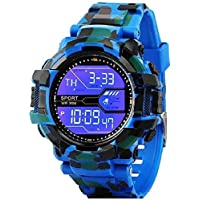 Digital Sports Army Multicolour Big Dial Green Black Red Grey Combo Watch Mens's Kids&Girls