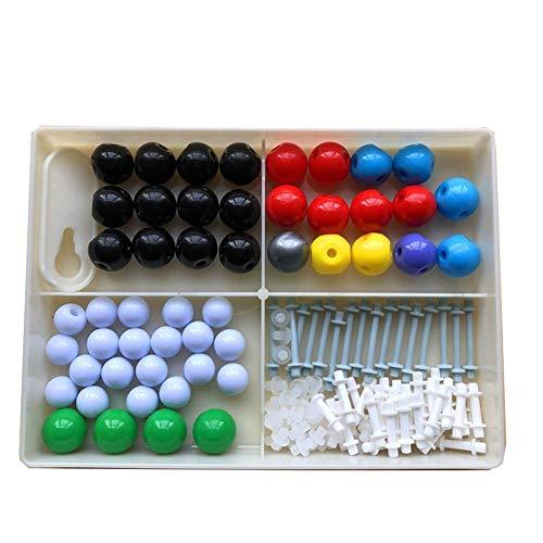 Model Kit, Set Atommolekulare Modelle Organische Chemie Molekülmodellierung Chemie Struktur-Kit Für Lehrer, Schüler Und Wissenschaftler (125 Teile) ()