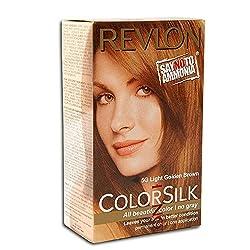 Revlon Colorsilk Hair Color, Light Golden Brown 5G (40ml)