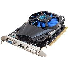 Sapphire Radeon R7 250 1GB GDDR5 Radeon R7 250 1GB GDDR5 - Tarjeta gráfica (AMD, Radeon R7 250, 4096 x 2160 Pixeles, 925 MHz, 4096 x 2160 Pixeles, 1 GB)