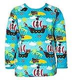 JNY Colourful Kids Jungen T-Shirt Piraten (92, Langarm)