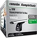 Rameder Komplettsatz, Dachträger WingBar für VW TRANSPORTER T6 Bus (140864-14350-1)