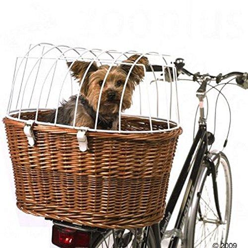 Bici cestino di vimini per cani gatti adatto per e-bike bici
