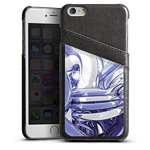 Apple iPhone 4 Housse Étui Silicone Coque Protection N½ud Chrome Chrome Étui en cuir gris