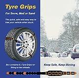 Grips d'adhérence pour pneu de voiture Pour neige/verglas/sable/boue...