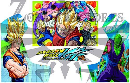 Zona Arcade Vinilo para recreativa bartop (Dragon Ball Z Kai)