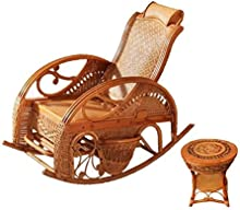Natural bambú - rota mimbre de mecedora set / mecedora suite / mecedora conjunto / silla / longue / relajarse silla / relax silla / asiento / plazas / silla / mesa de centro / mesa de té / tabla de té / mesa auxiliar / tabla de extremo