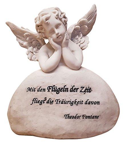 Engel Grabengel Schutzengel Grabschmuck mit Spruch