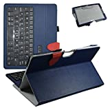Acer Iconia One 10 B3-A30 Bluetooth Keyboard Case,Mama Mouth Coustom Design Slim Stand PU Leather Case Cover With Romovable Bluetooth Keyboard For 10.1