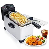 Aigostar Ushas 30JPN - Deep Fryer 2200 Watts, 3L, with Viewing Window, Temperature