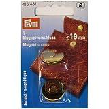 Magneetsluiting 19 mm goudkleurig