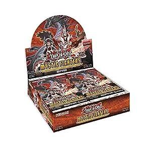 yu-gi-oh KONMYFI - Caja de exhibición de Luchadores místicos, 24 Paquetes