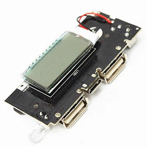 Generic Rkh-bg-1031593 Dual Usb 5v 1a 2.1a 18650 Battery Charger Mobile Power Bank Pcb Module Board, Multicolor Image 2
