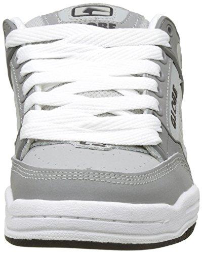 Globe Tilt-Kids, Chaussures de Skateboard Garçon Gris (Grey/Grey/White)