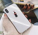 No 3D estereoscópico Agua embotellada Coca Funda de Silicona Blanda Carcasas y Fundas para iPhone 6 7 8 Plus X XS XR MAX (iPhone 7 8 4.7'', Coca)