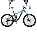 blueshyhall techo para bicicleta ascensor de elevación ahorra espacio para bicicleta techo de elevación accesorio de garaje de almacenamiento