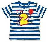 Search : Edward Sinclair 2 Children's Striped T-Shirt 2nd Birthday T-Shirt