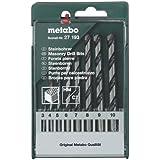 Metabo 627193000 Assortiment de 8 Forets à pierre