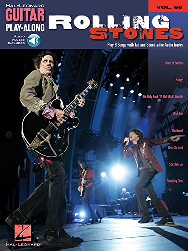 Guitar Play-Along Volume 66: Rolling Stones (Hal Leonard Guitar Play-Along)