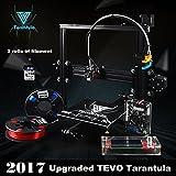 TEVO Tarantula I3 Kit di stampante 3D di estrusione in alluminio + selezione multifunzionale + stampa 3D 2 Rolls Filament e 8GB LCD come regalo (Doppio e Auto)