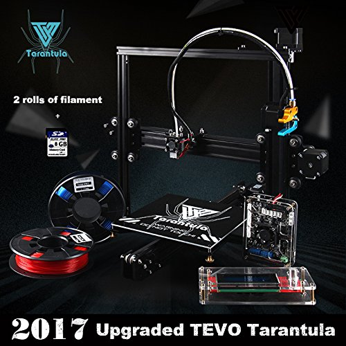 TEVO-Tarantula-I3-Aluminium-Extrusion-3D-Printer-Kit-3D-Druck-2-Rolls-Filament-8GB-SD-Karte-LCD-als-Geschenk-Standarddrucker