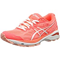 Asics GT 1000 5 Ladies Running Shoes (Orange)
