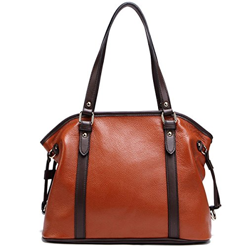 PACK Trend Wild Bag Ladies Portable Borse In Pelle Leather Vitality Leather Personality Wild,Brown Brown