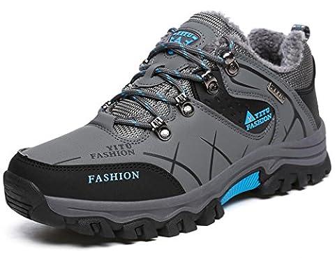 YITU Hike Trekking Wanderhalbschuhe Outdoor Sport Wander Schuhe Walking Wanderstiefel Boots für Herren Damen 39-47