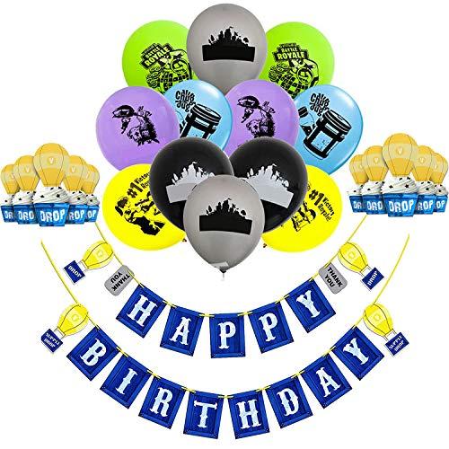 Sayala Suministros para fiestas de 28piezas,16 globos de fiesta de lá