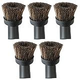 Baoblaze 5 Pz di 32mm Spazzole Brushes per Universale Aspirapolvere 38mm Bristle