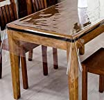 Protect your valuable furniture from accidental spills and mishaps by spreading this durable table cover. This elegant transparent Design allows to display the beauty of your Table while ensuring proper protection. This Product also enhance the life ...