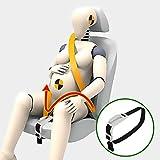 Zuwit Bauch-Gurt, Schwangerschafts-Sicherheitsgurt-Regler, Komfort & Sicherheit für den Bauch schwangerer Mütter, Schützt das ungeborene Baby, ein Muss für werdende Mütter (Weiß)