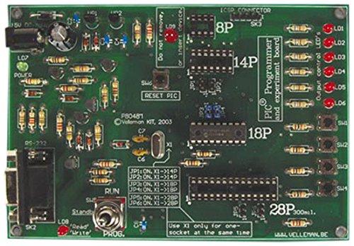 Velleman VM111-Schnittstelle und Netzteil (Pic Programmer Kit)