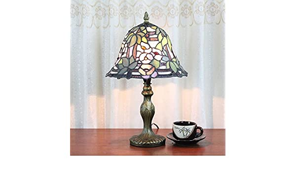 Tiffany Lampen Outlet : Hdo 8 zoll lila wisteria pastoral antique tiffany style