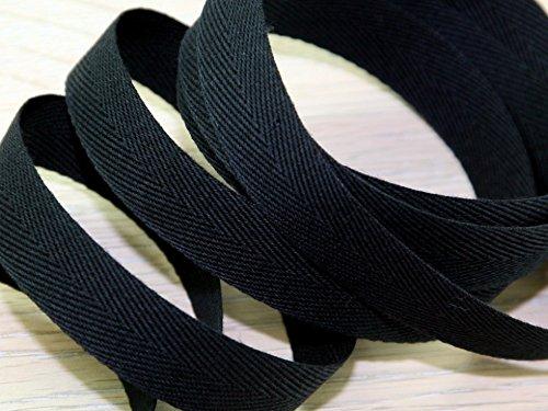 Prym Ruban adhésif en Coton Ultra résistant Noir 25 mm