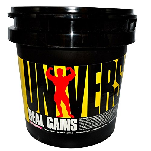 Universal Nutrition Real Gains 6.85 lb strawberry, 3110 g