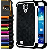 CellBoutique TM ShockProof Triple Layer Hard Armoured Case CoverFor The Galaxy S3 Mini Free Screen Protector White