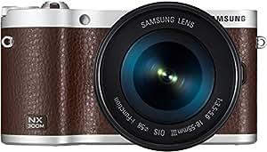 Samsung NX300M Kit braun + 18-55 OIS i-Function + SEF-8A