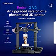 Creality 3D Ender-3 V2 3D Printer Kit All-Metal Integrated Structure Silent Mainboard New UI Display Screen Su