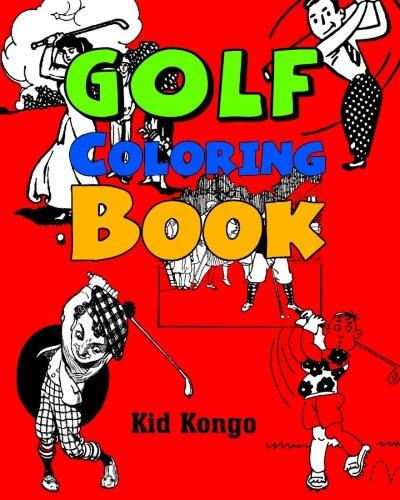 Golf Coloring Book por Kid Kongo
