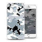 Casetic | iPhone X Schutzhülle Camouflage TPU Hülle Cover Handyhülle Bumper leichte Handytasche Hülle mit Foto Silik