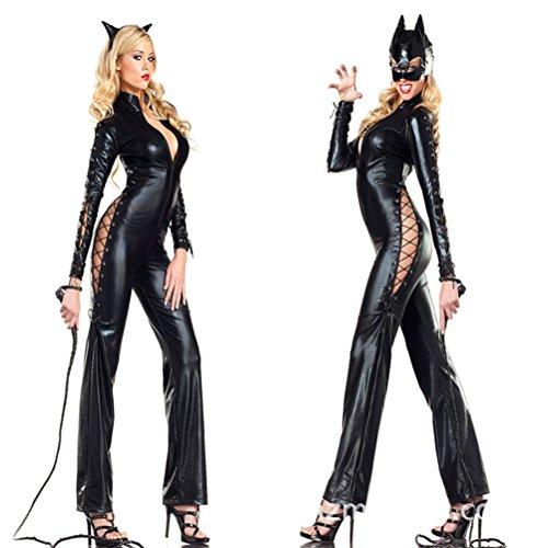 Tinksky-16m-Catwoman-Whip-para-Halloween-Negro