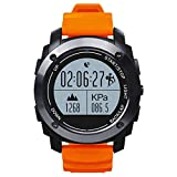 Fitness Sports montre intelligente, GPS Bracelet de sport, Smart Sport Bracelet, multifonctions, suivi de la santé, podomètre, Bluetooth Sport Smart Watch veille d'analyse