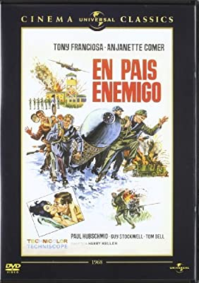In Enemy Country ( In Enemy Hands ) [ NON-USA FORMAT, PAL, Reg.2 Import - Spain ] by Tom Bell